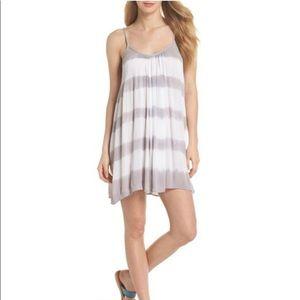 Elan Strappy Tie Dye Swim Cover Up Dress Medium